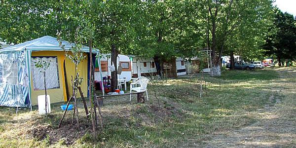 Auto kamp Borsko jezero