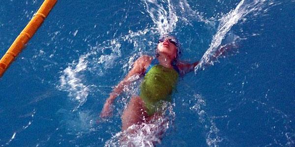 Milica Marković u bazenu