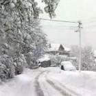 dalekovodi pod snegom