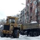 Uklanjanje snega sa borskih ulica