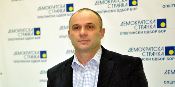 Jugoslav Djordjević, izabrani član OO DS