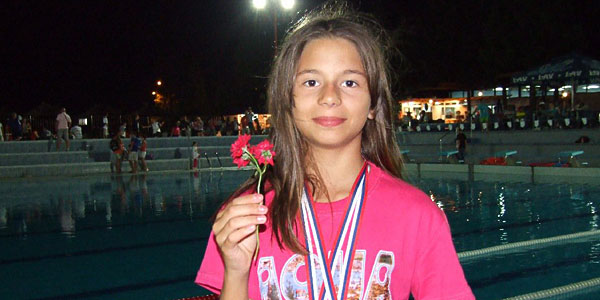 Milica Marković medalja