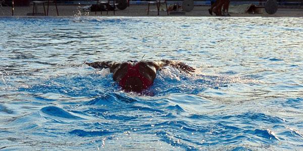 Milica Marković plivanje