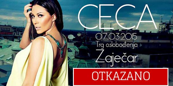 Otkazan Cecin koncert