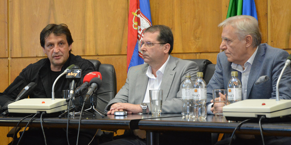 Bratislav Gašić, Živorad Petrović i Blagoje Spaskovski