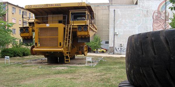 Damper - rudarski kamion