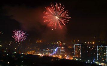 Vatromet u Boru na doceku 2013. godine