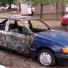 izgoreo automobil