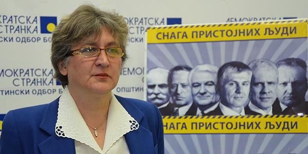 Svetlana Anđelković, potpredsednica OO DS Bor