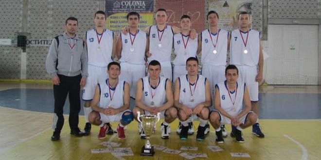 Vranje: Republičko takmičenje u košarci. Vicesampioni Srbije u školskom sportu