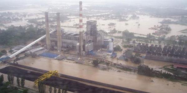 Poplave u Obrenovcu / Foto: Tanjug