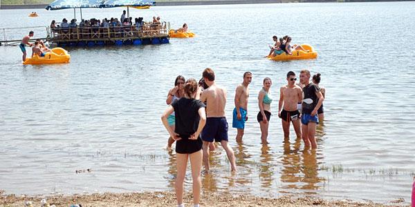 Rashlađivanje u jezeru